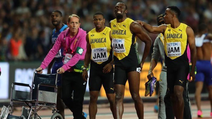 Bolt blessure