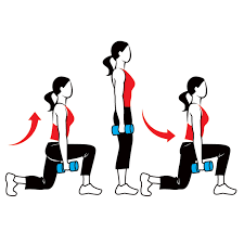 Lunges poids