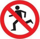 No running 1