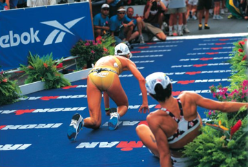 IRONMAN FINISH KONA 1997